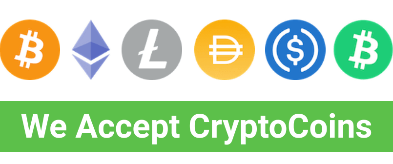 live-rates accept cryptocurrency payments